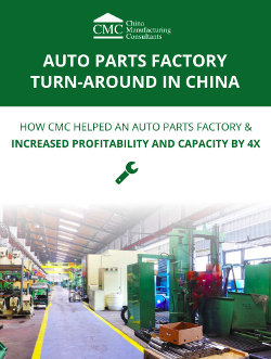 auto parts factory turnaround in China case study