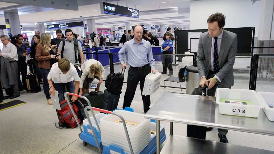 automation in the airport security inspection process