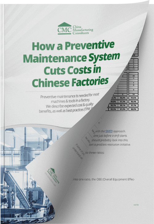 How a Preventive Maintenance System Cuts Costs in Chinese Factories pdf download