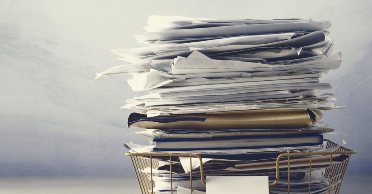 Paperwork for the sake of paperwork-1