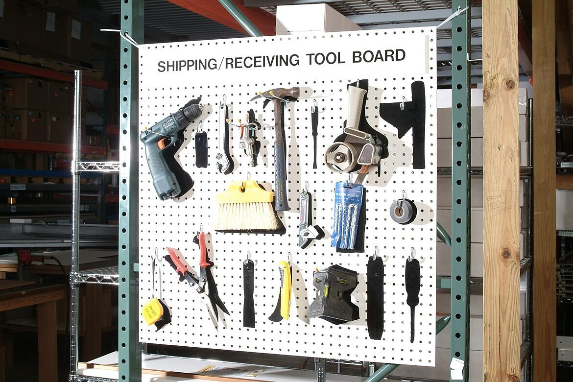 Organizing Tools for Higher Operator Efficiency