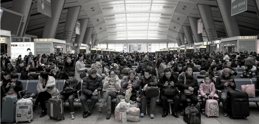 Spring Festival Chunyun Travelers