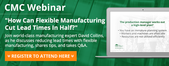 Webinar - How can flexible manufacturing cut lead times in half