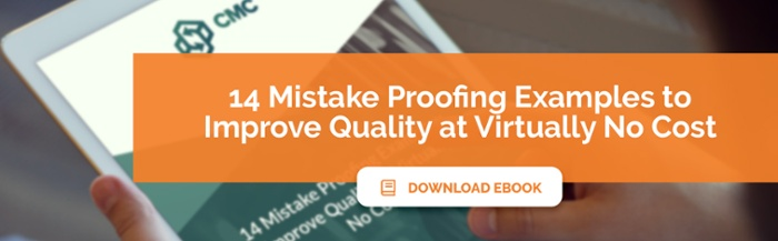 'Mistake Proofing Examples: Improve Quality at Virtually No Cost' - eBook