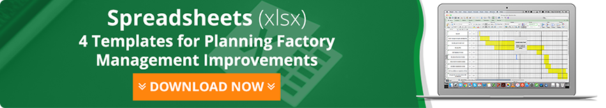 4 Templates for Planning Factory Management Improvements