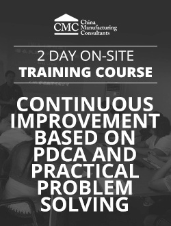 Continuous Improvement Based On PDCA And Practical Problem Solving